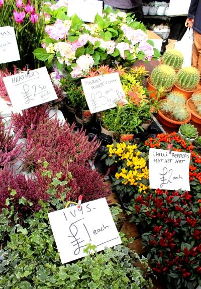 Le marché aux fleurs Columbian Road