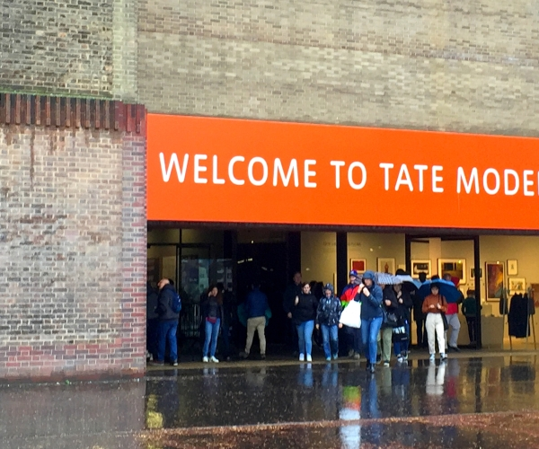 WELCOME TO TATE MODERN
